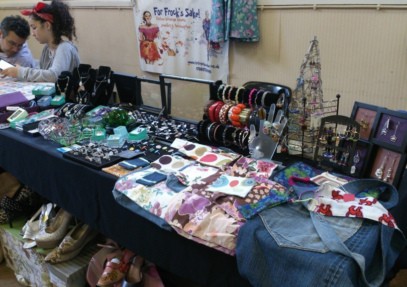 Stalls at Retrolex fair